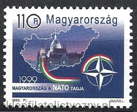 Węgry 1999, NATO **